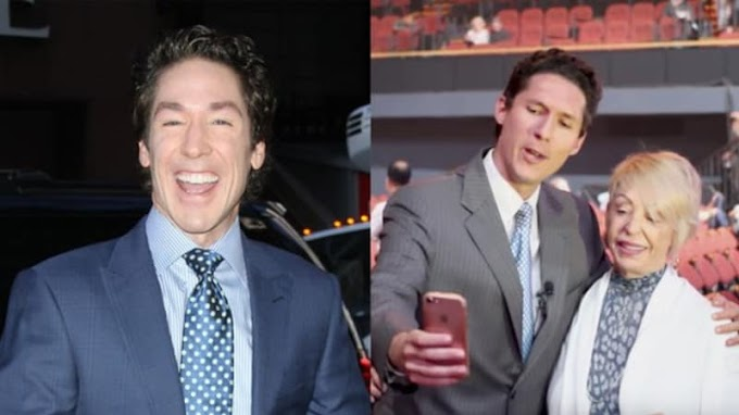 Video: Joel Osteen impersonator shows up at a Joel Osteen event and trolls everyone