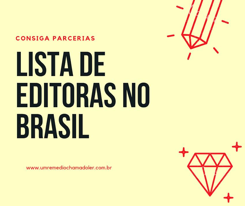 Lista de Editoras no Brasil para Parcerias