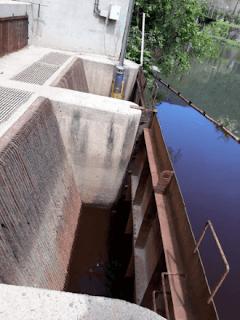 Captação de agua da represa Billings