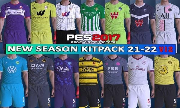 PES 2017 Kitpack Season 2021-2022 AIO Big Pack v12