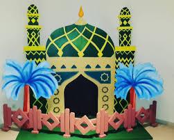 Dekorasi Ramadhan dari Styrofoam Sederhana