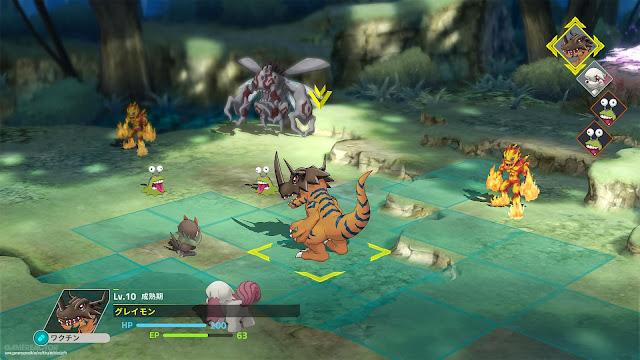 Digimon Survive (Switch) é adiado para 2020