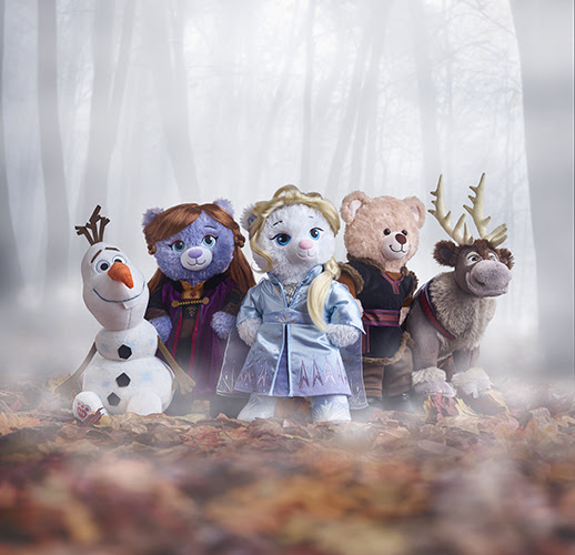 Frozen 2 Collection at Build-a-Bear Workshop