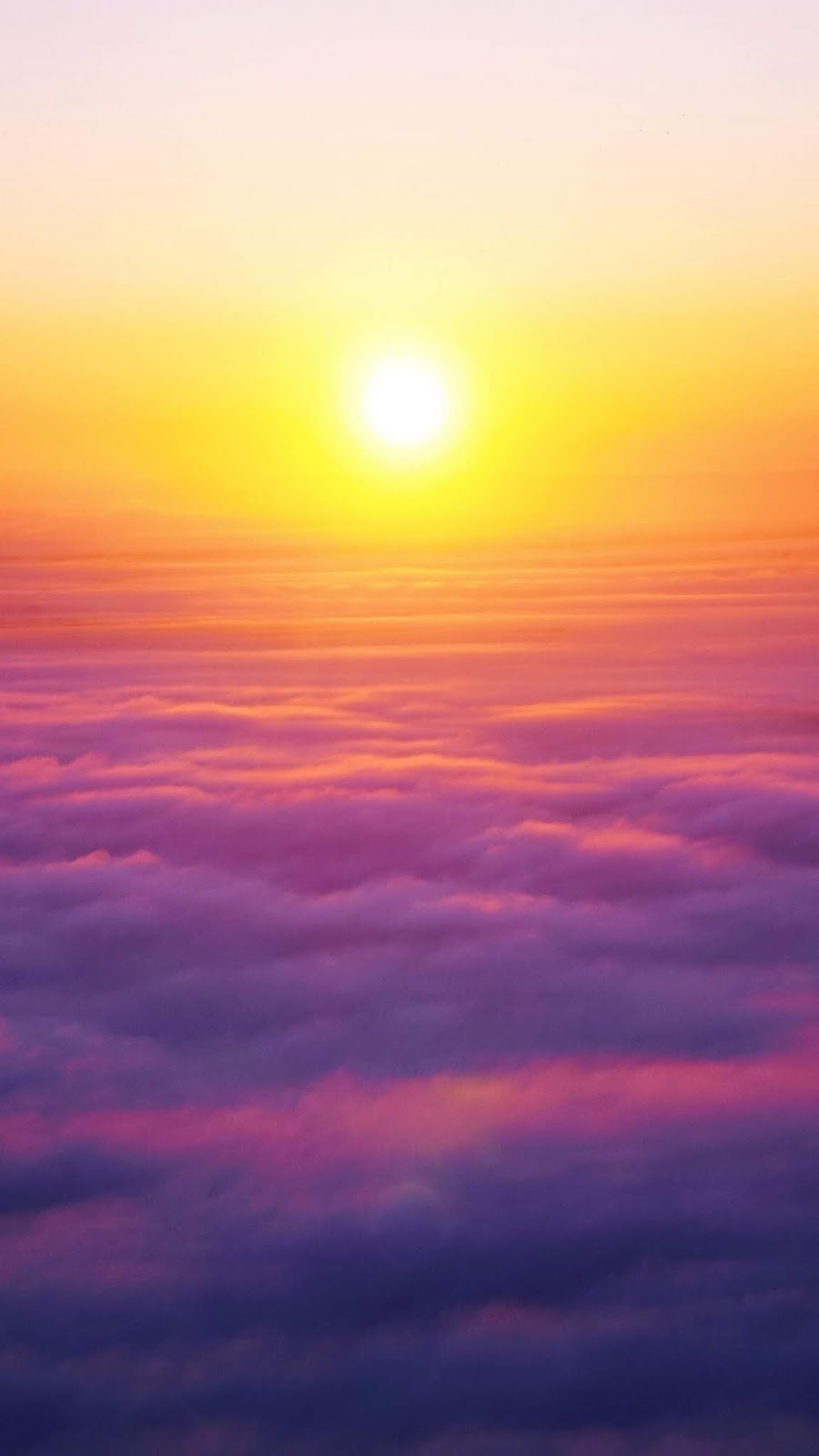 Sunrise in the sky by Toby Hoos