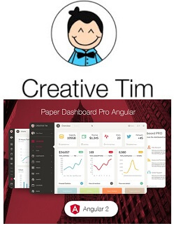 Paper Dashboard Pro Angular Discount Coupon