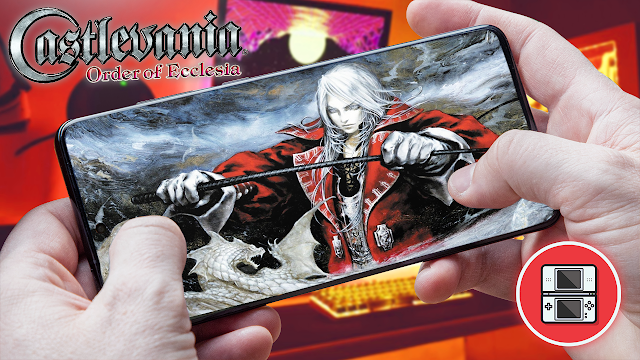 Castlevania: Order Of Ecclesia Para Teléfonos Android (ROM NDS)