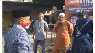 Istri gubernur Jambi, kunjungi posko pemenangan FU-SN Tanjab barat