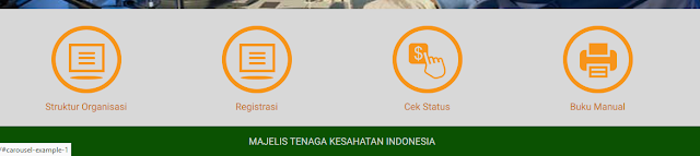 Cara Registrasi STR Secara Online Tenaga Kesehatan Indonesia