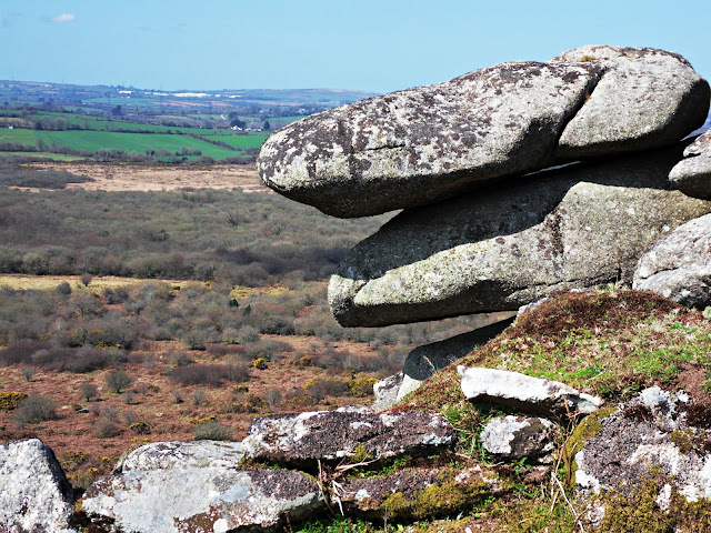 Helman Tor Granite Rocks