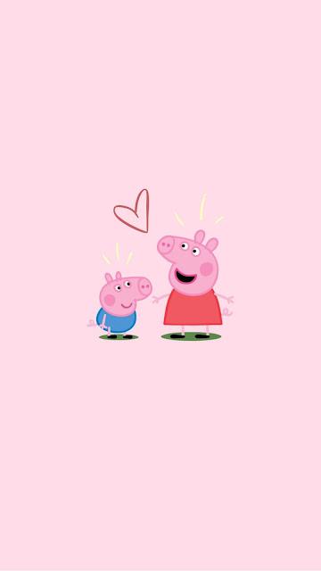iphone aesthetic peppa pig wallpaper