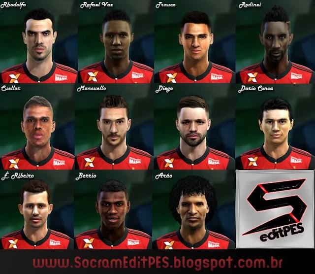Facepack C.R Flamengo PES 2013