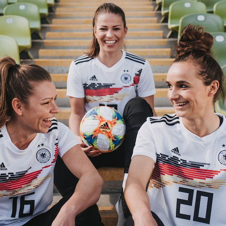 0591095db Adidas has released two bespoke kits for the German women's national team.