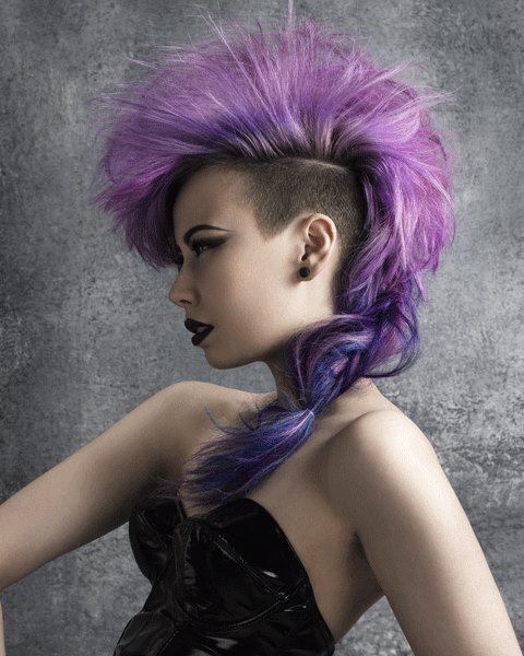 unique hair colors - haircut