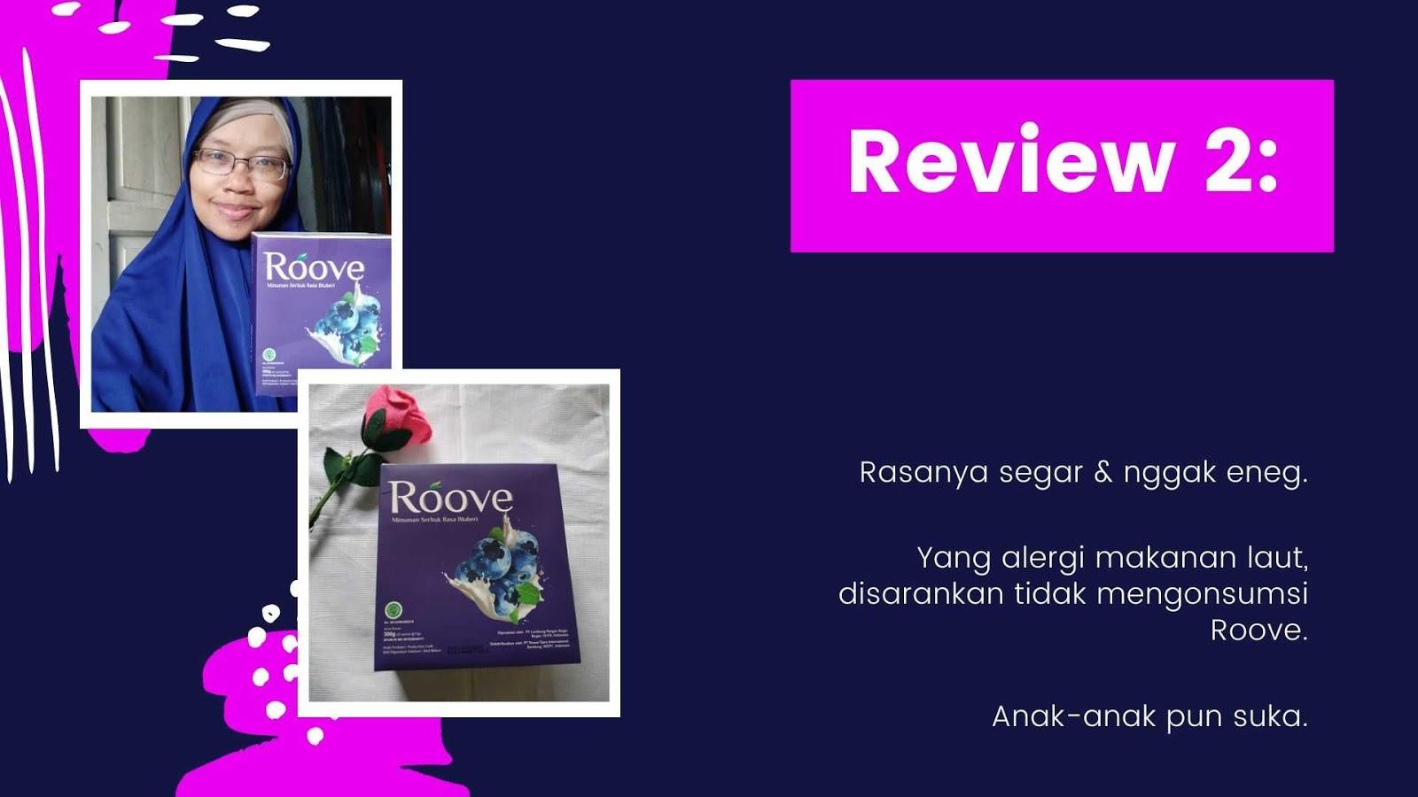 review roove minuman kolagen ikan halal yang segar dan tidak amis