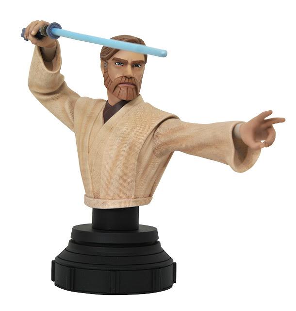 Star Wars Clone Wars Obi-Wan 1/7 Scale Bust