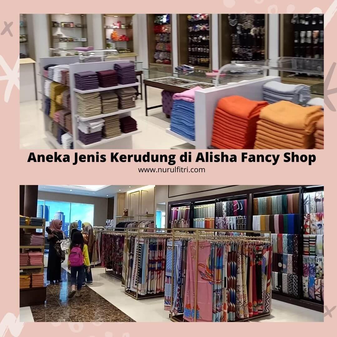 Alisha Fancy Shop Tempat Belanja Pakaian Muslim di Kota Bandung