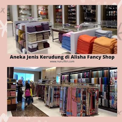 Alisha tempat belanja jilbab di Bandung