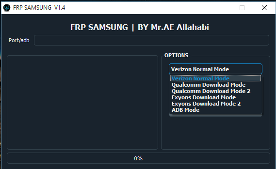 Download Samsung FRP Unlocker V1.4 Latest Update Tool Free For All Without Password