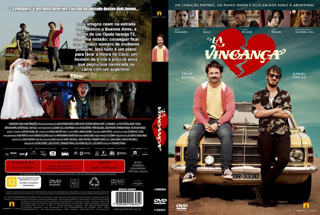 Capa DVD La Vingança