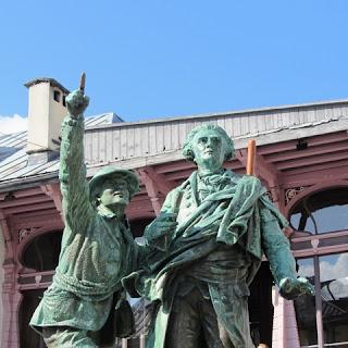 Saussure est le troisième homme à atteindre le sommet du Mont Blanc