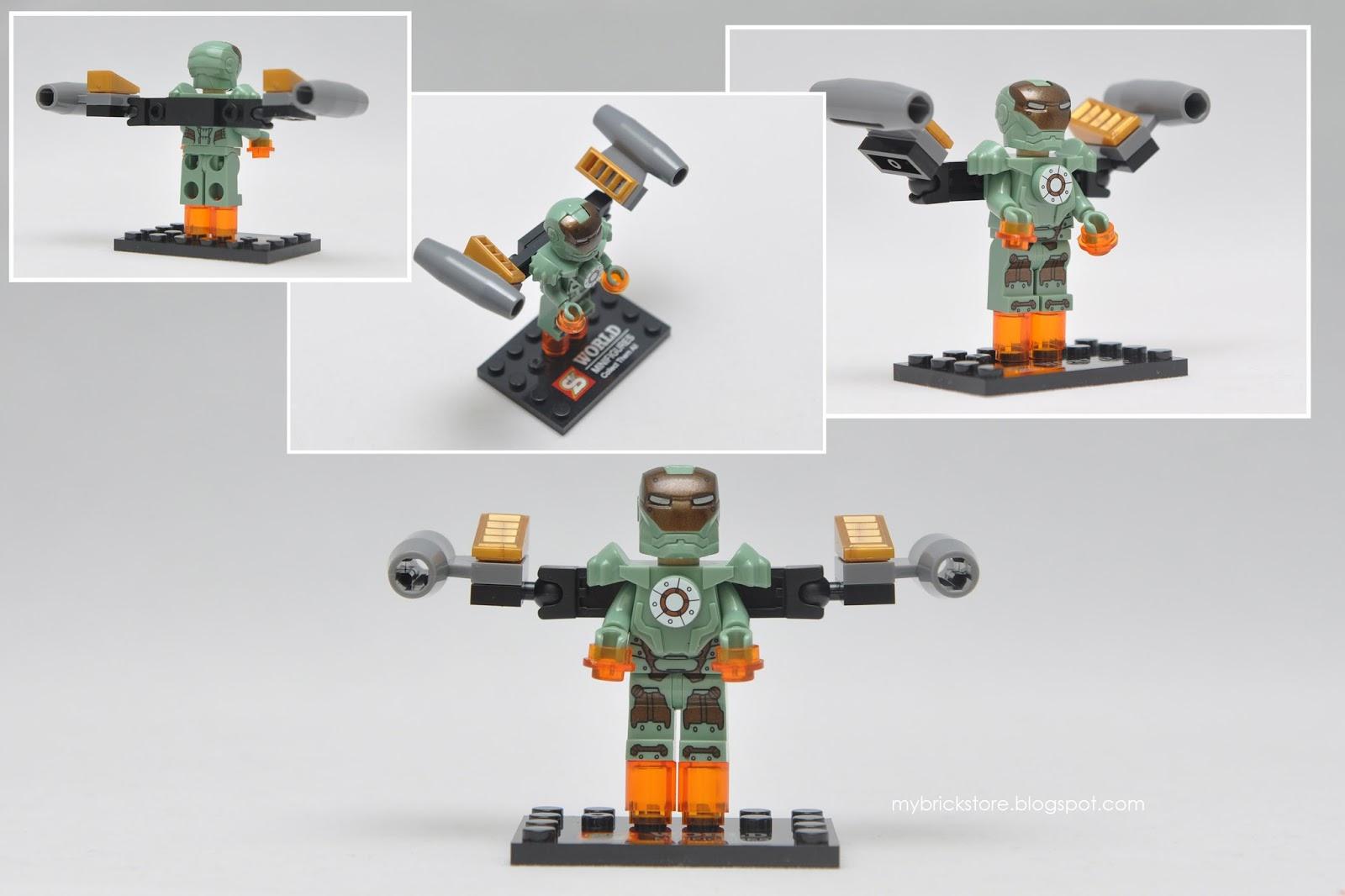 Iron Man Lego Figures 3