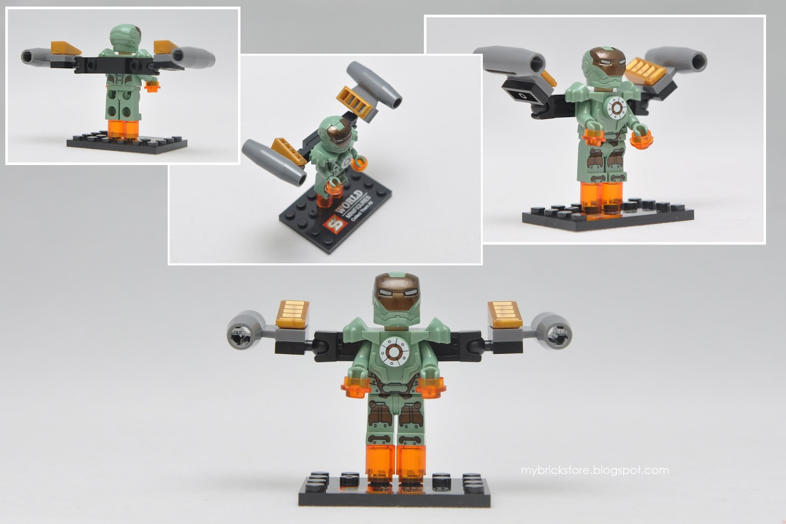 lego iron man mark 28 - photo #35