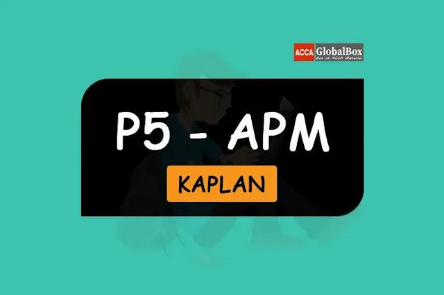 P5 - KAPLAN Exam Kits, Accaglobalbox, acca globalbox, acca global box, accajukebox, acca jukebox, acca juke box,