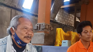 Judi Sabung Ayam merajalela di Dusun Gubuk Bali Desa Jembatan Gantung