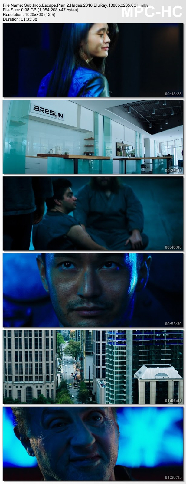 Screenshots Download Film Gratis Escape Plan 2: Hades (2018) BluRay 480p MP4 Subtitle Bahasa Indonesia 3GP