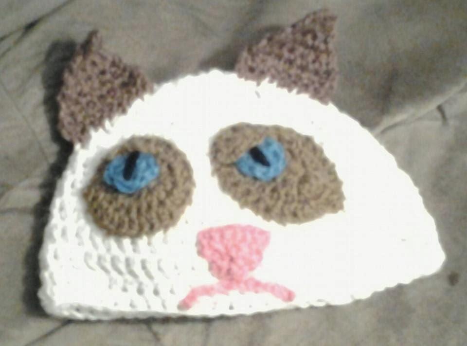 the penguin pages grumpy cat hat. Black Bedroom Furniture Sets. Home Design Ideas