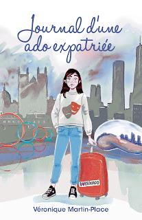 Couverture Journal d'une ado expatriée Véronique Martin-Place