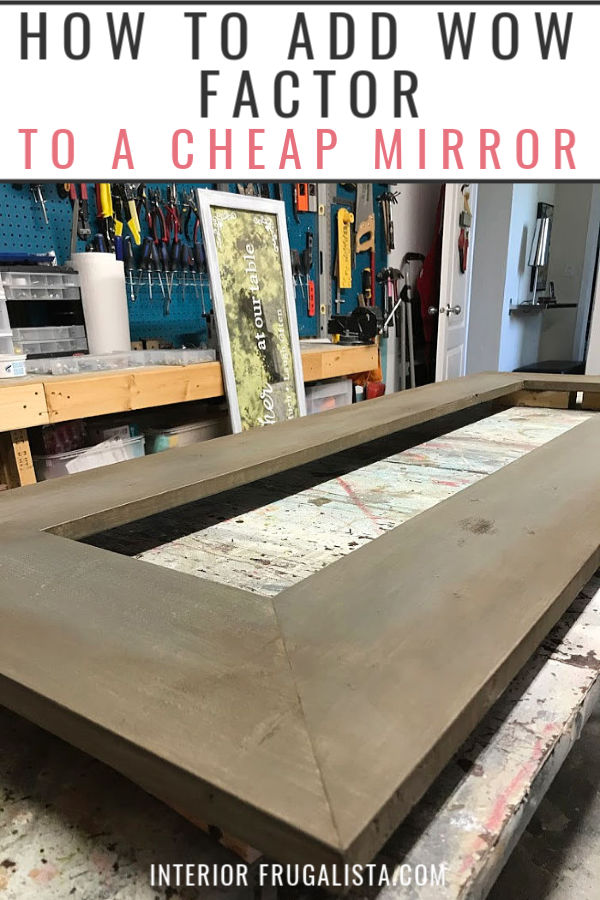 How To Add Wow Factor To A Cheap Mirror
