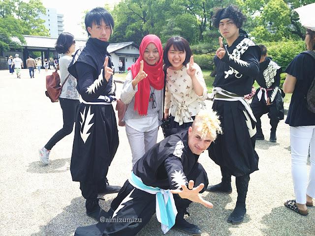Ninja di Nagoya Castle