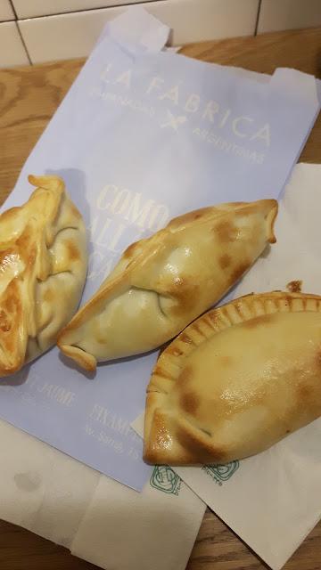 leckere Empanadas in Barcelona