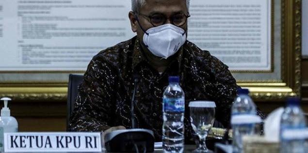Arief Budiman Positif Covid-19, Gedung KPU Ditutup 3 Hari