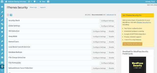 Tips dan Trik Rahasia agar Website Wordpress Anda tidak mudah di Bobol (Crack!!)