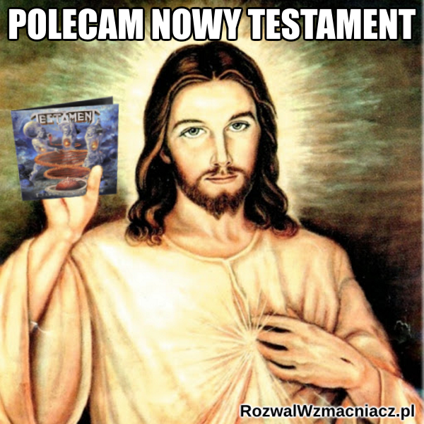 Polecam Nowy Testament - Jezus - Titans of Creation