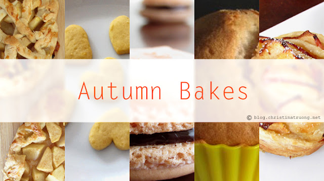 Autumn / Fall Baking Season Dessert Recipes