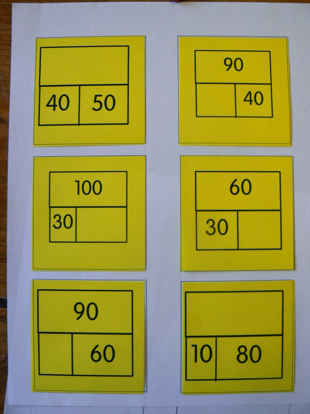 Mrs T S First Grade Class Math Exit Tickets