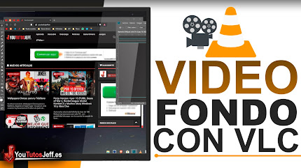 Poner Vídeo de Fondo de Pantalla con VLC