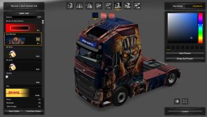 Iron Maiden Skin for Volvo 2013