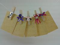 tarjetas de puesto de mesa con decoración
