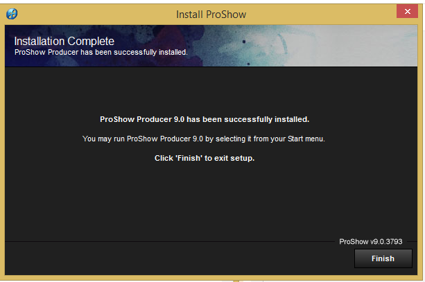 cài đặt ProShow Producer v9 Full Crack