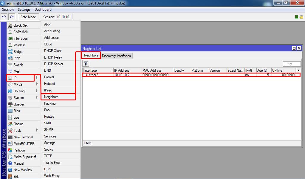 Jaringan & OS: Konfigurasi MNDP MikroTik (MikroTik Neighbors