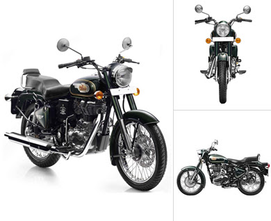 Royal Enfield Bullet 350 three angle images