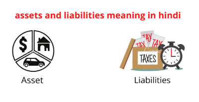assets and liabilities meaning in hindi