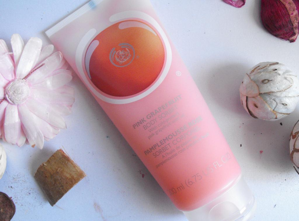 The Body Shop | Pink Grapefruit Body Sorbet and Eau De Toilette