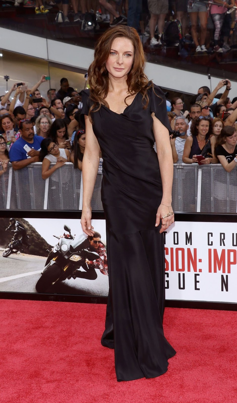 Mission Impossible - Rogue Nation actress Rebecca Ferguson at NYC Premiere HD Photos & Wallpapers
