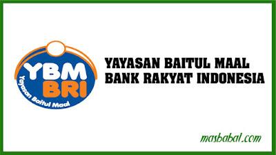 Yayasan Baitul Maal BRI (YBMBRI) adalah Lembaga Amil Zakat Nasional yang menghimpun dan mengelola dana zakat masyarakat di seluruh Indonesia. Pada tahun 1992 Bapak Winarto Soemarto (Direktur BRI) memasukkan zakat sebagai salah satu program kerja Badan Pembina Kerohanian Islam (Bapekis) BRI. Pada tahun 2001, Bapak Rudjito sebagai Dirut BRI memprakarsai upaya optimalisasi zakat di lingkungan BRI