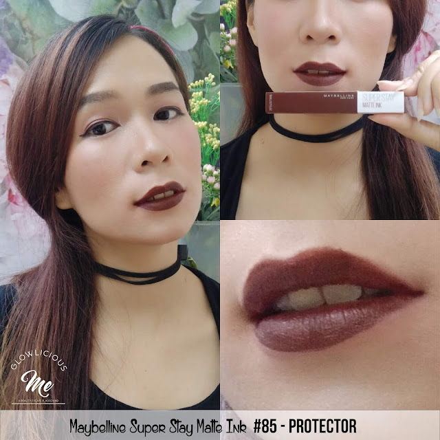 Maybelline Super Stay Matte Ink #85 protector  - REVIEW LIPSTICK MAYBELLINE SUPER TAHAN LAMA 2